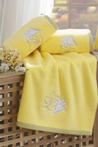 Банное полотенце Soft Cotton LILIUM, 85*150 см