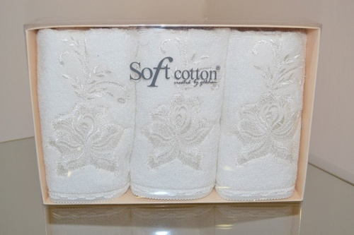 Полотенце Soft Cotton PANDORA, 32х50 см, 3 пр